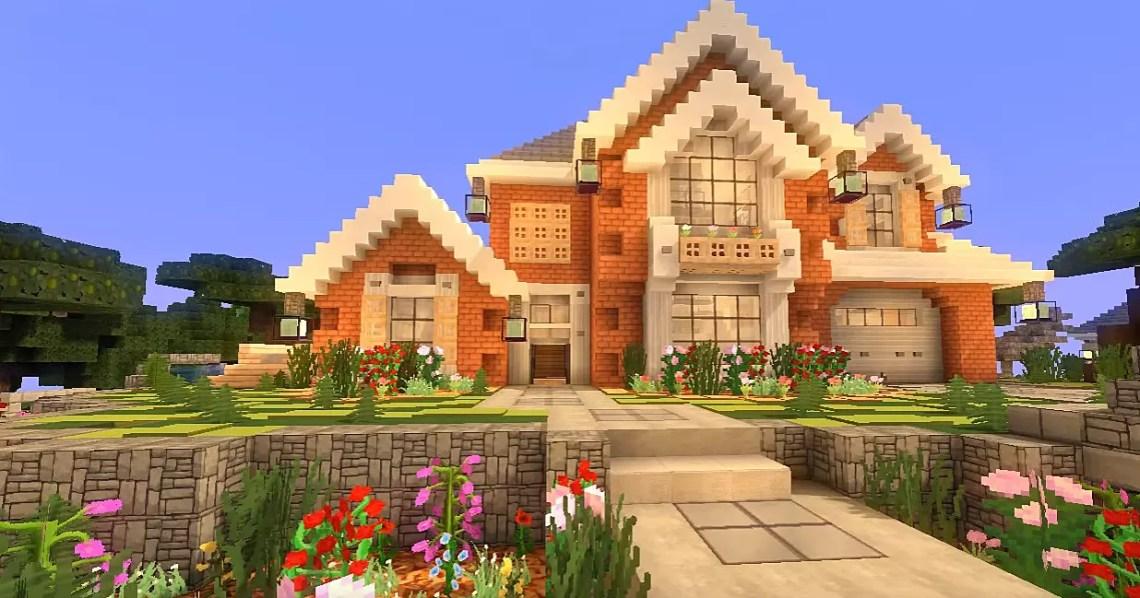 Minecraft House Tutorials - Modern House