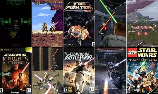 5 Star Wars Games That Need to Make a Comeback With The Last Jedi