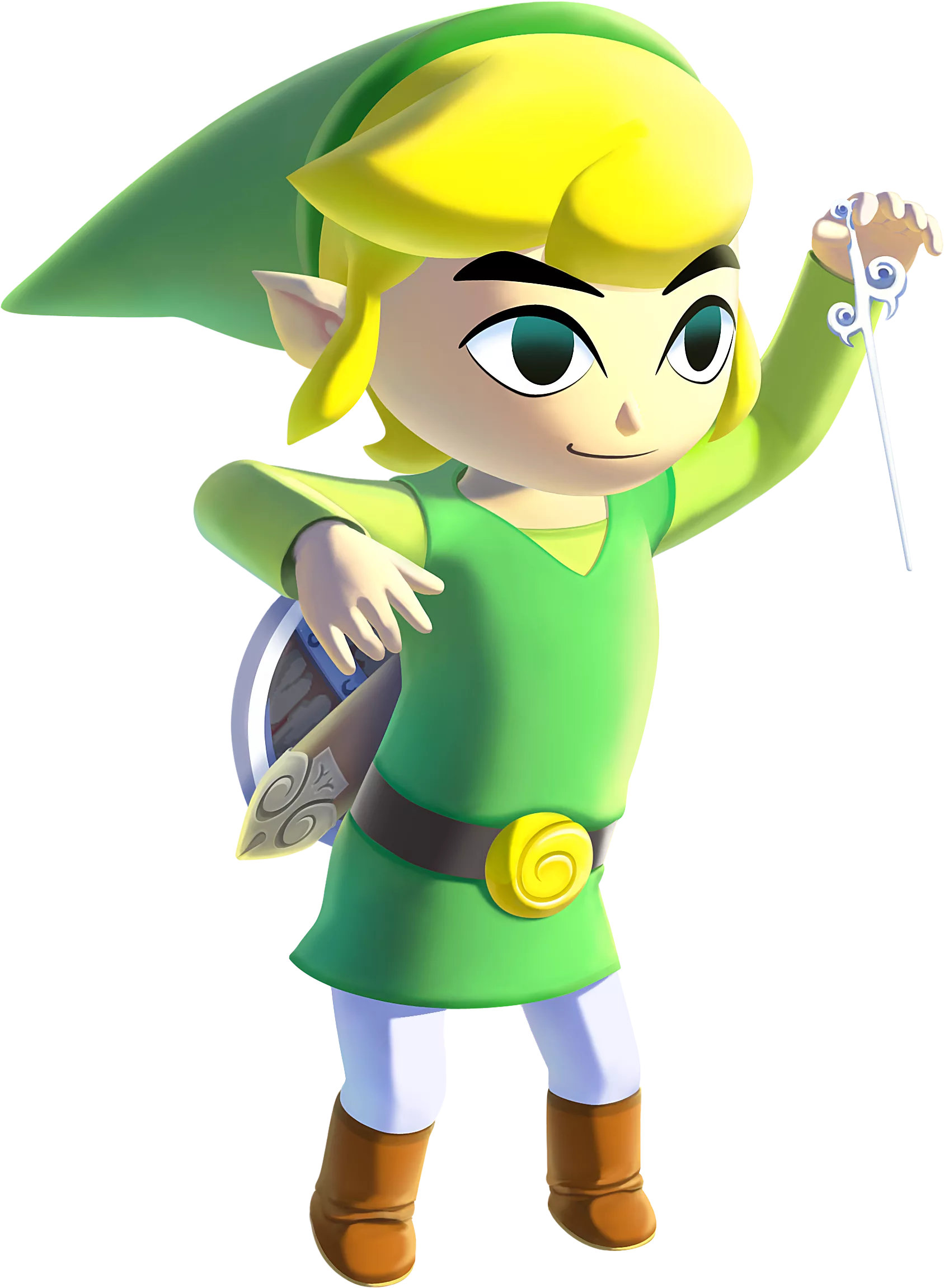 Same Links From Different Zelda Series