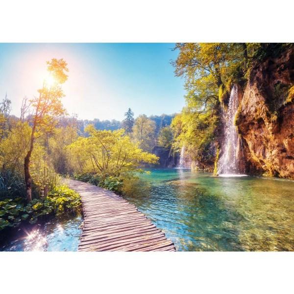Фотообои МИР Дорожка у водопада MIR-5043-V4 380х270 см в ...