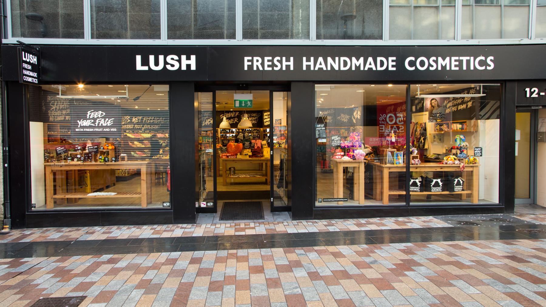 Lush Fresh Handmade Cosmetics Zurich