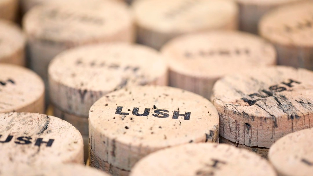 Image result for lush cosmetic cork