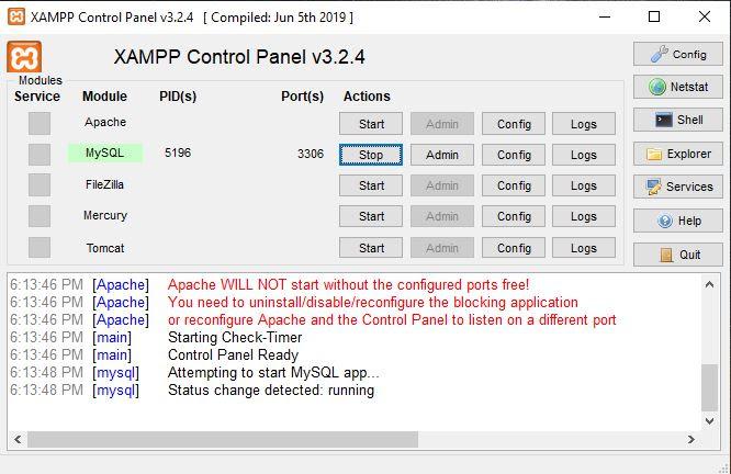 Cara Mengakses MySQL dari Command Prompt (CMD)