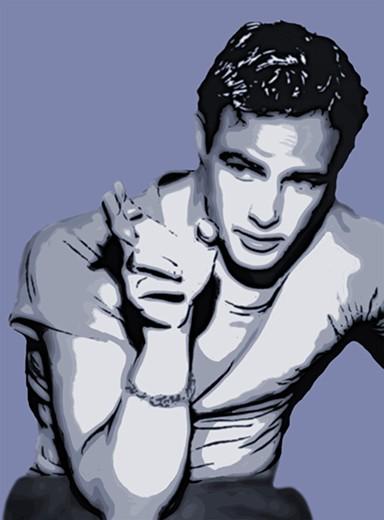 Marlon Brando. 2018. (Mike Bliss)