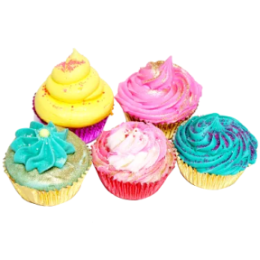 cupcake bath bombs seen on Steals on the Real