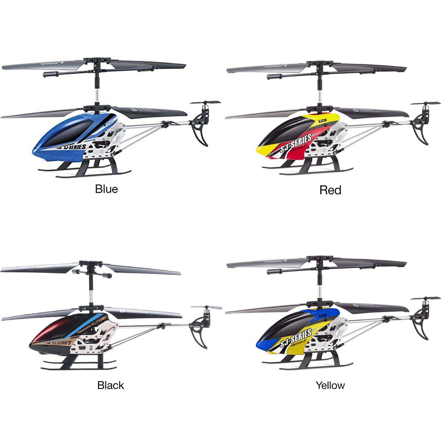 Sj250 Coaxial Gyro Stabilized 3 5ch Helicopter
