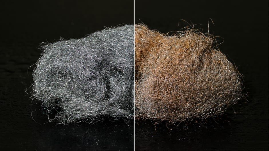 Steel Wool Experiment Thermometer