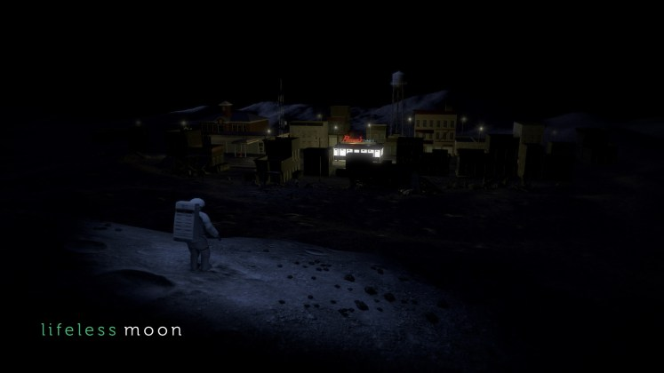 Lifeless Moon cidade na luaa