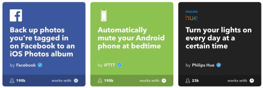 Some fund IFTTT Recipes
