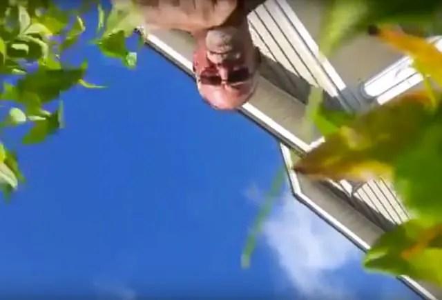 1 000 pies de caída en video: El celular que vivió.