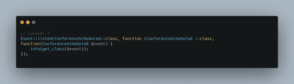 Better Syntax for Event Listening 1 of 2