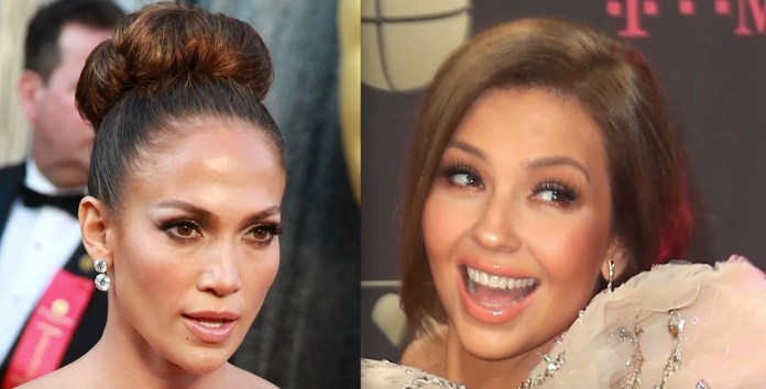 Thalia copies JLo's boots, but something goes wrong (PHOTO)
