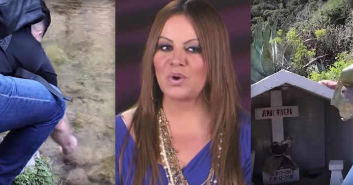 They visit the place where Jenni Rivera died and find the unexpected (VIDEO)