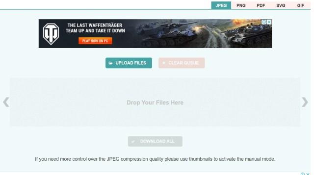 Kompresi Ukuran File JPEG
