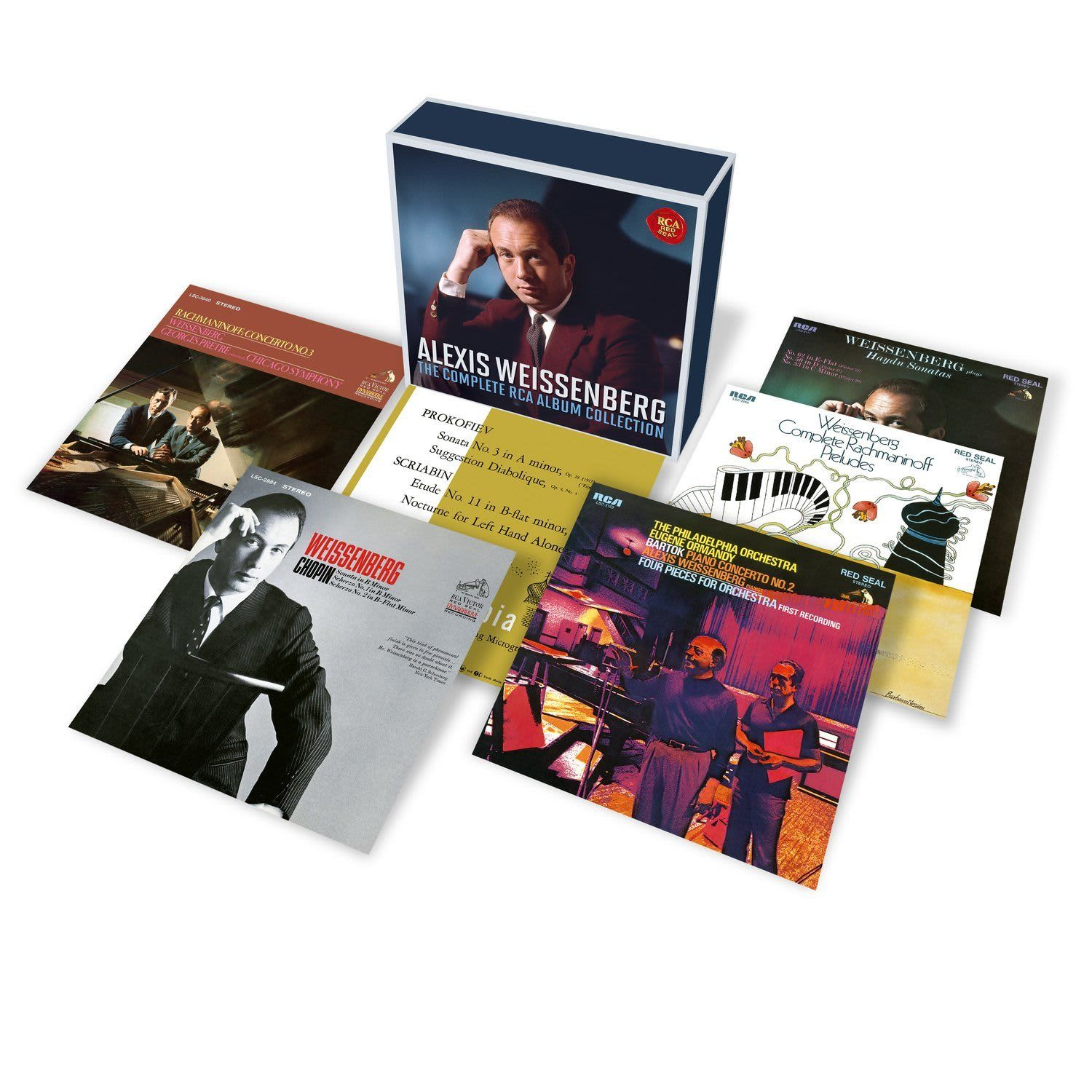 Photo No.1 of Alexis Weissenberg: The Complete RCA Album Collection