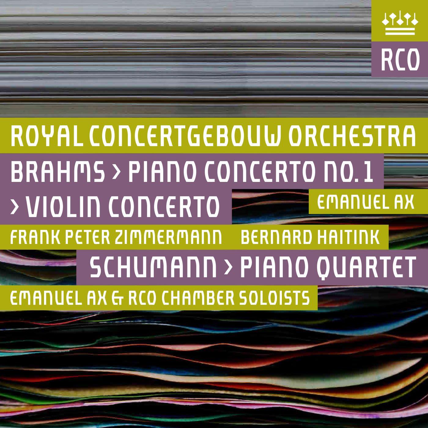 Photo No.1 of Brahms: Piano Concerto No.1, Violin Concerto