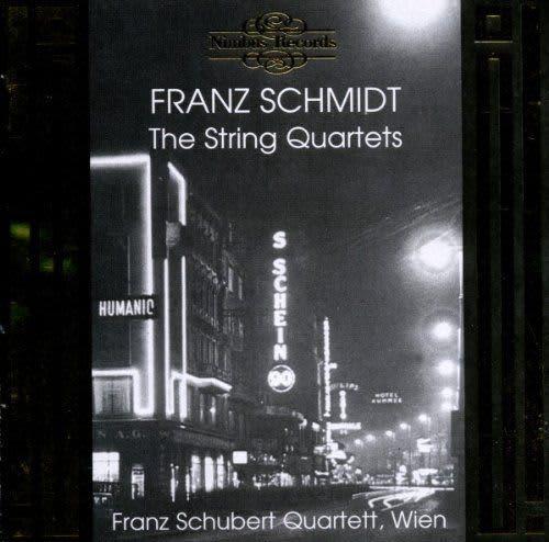 Photo No.1 of Franz Schmidt - The String Quartets