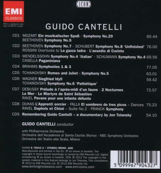 Photo No.2 of Guido Cantelli: Fiery Angel of the Podium