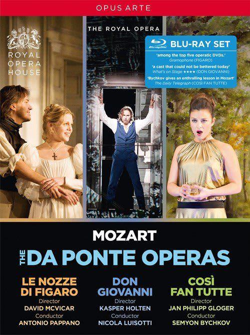 Photo No.1 of Mozart: The Da Ponte Operas (DVD)