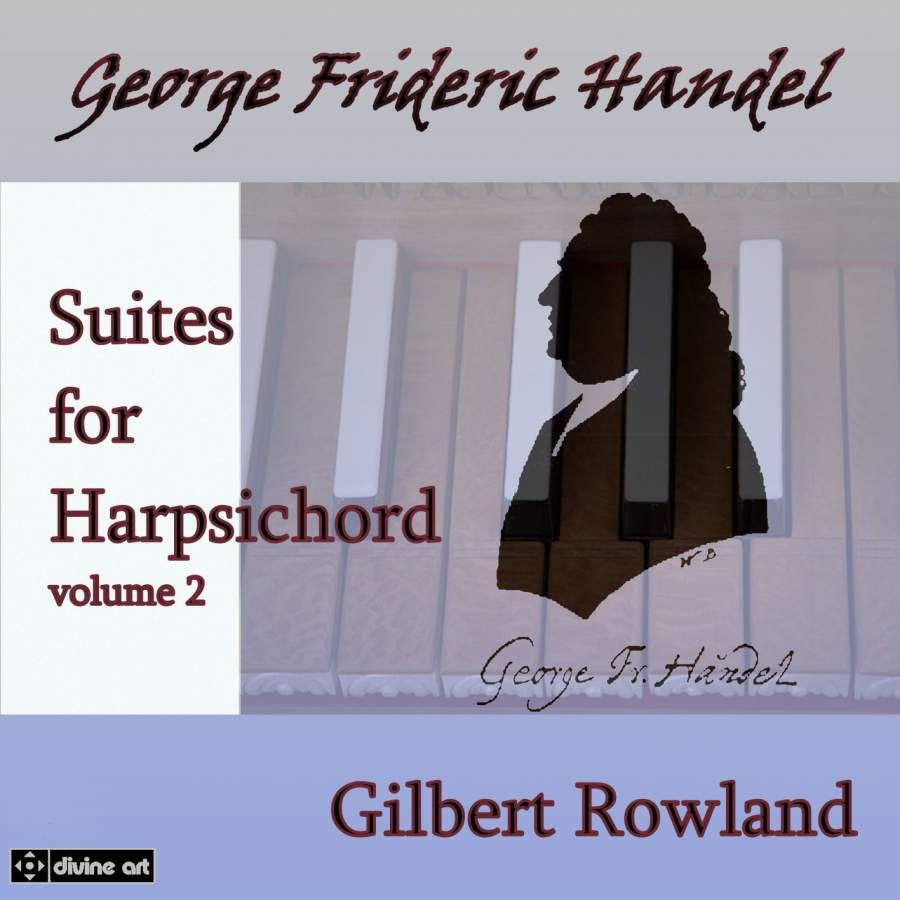 Photo No.1 of Handel: Harpsichord Suites Volume 2
