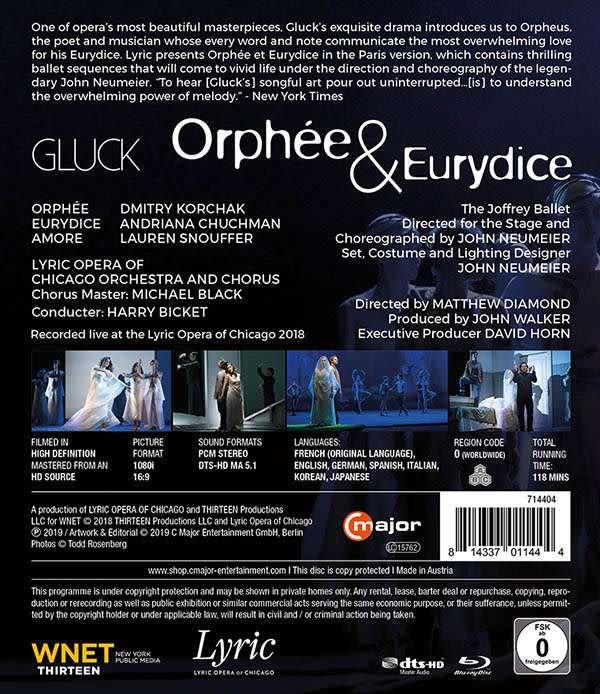 Photo No.2 of Gluck: Orphee & Eurydice