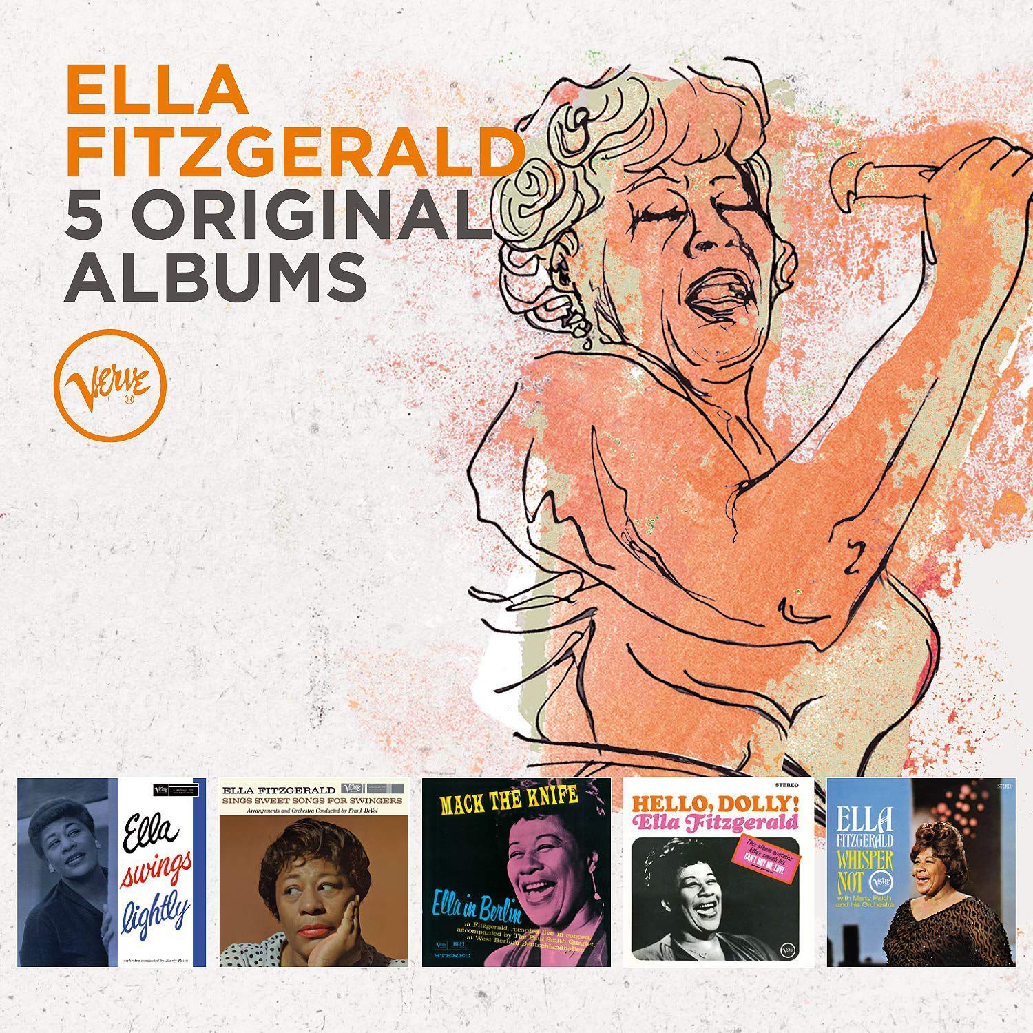 Photo No.1 of Ella Fitzgerald: 5 Original Albums
