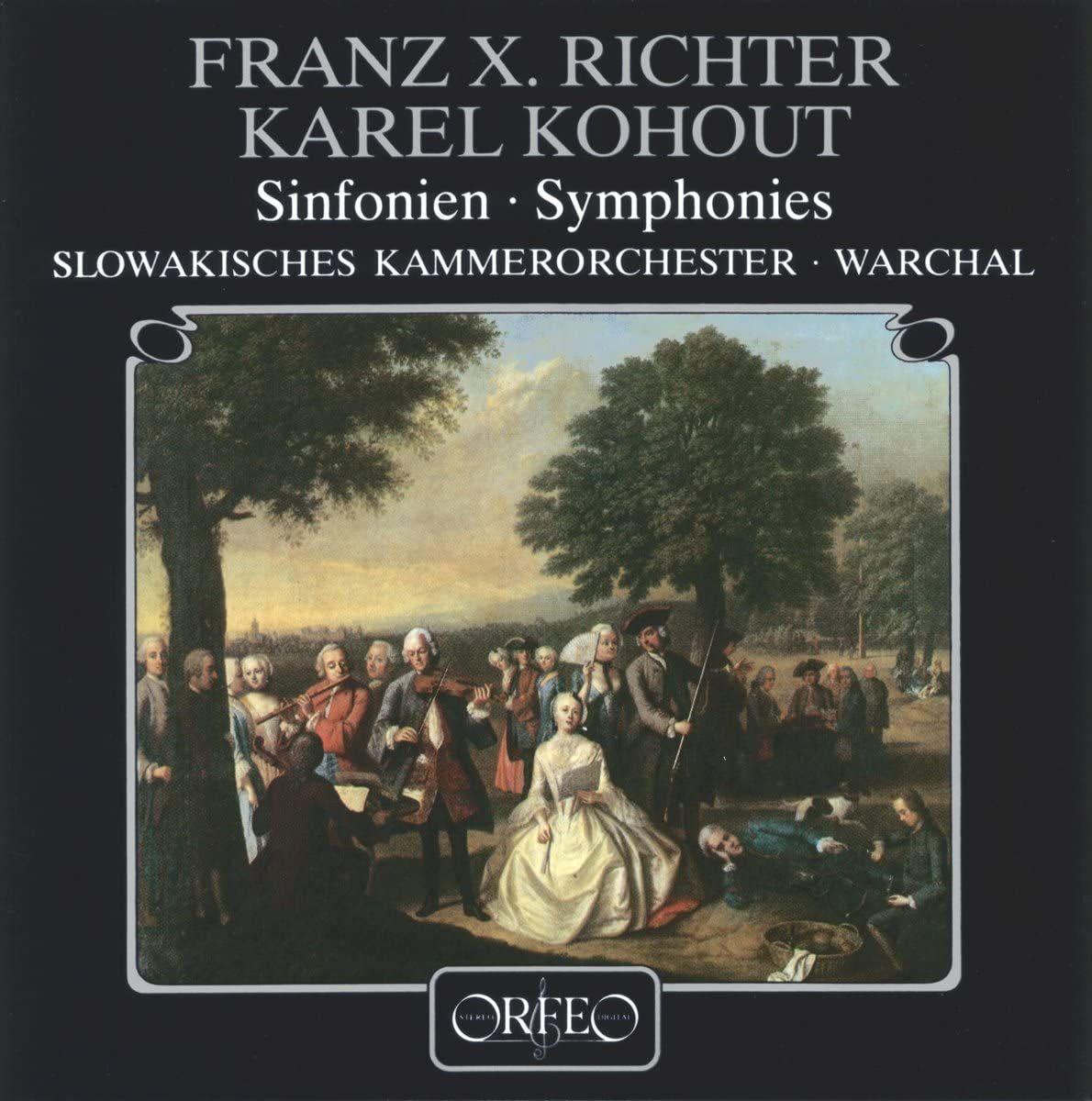 Photo No.1 of Franz Xaver Richter • Karel Kohout Symphonies (120 g)