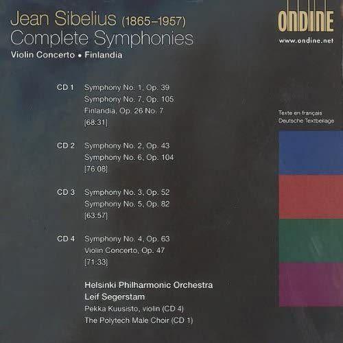 Photo No.2 of Sibelius: Complete Symphonies