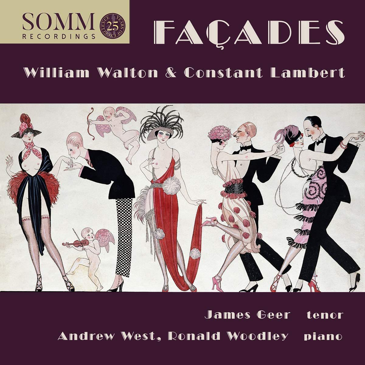 Photo No.1 of Facades - Music by William Walton and Constant Lambert