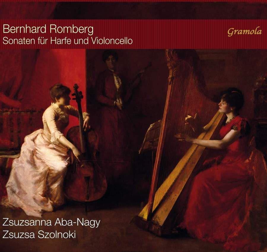 Photo No.1 of Romberg: Sonatas for Harp and Cello