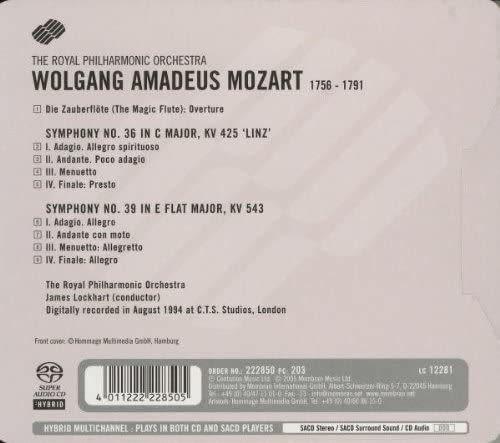 Photo No.2 of Wolfgang Amadeus Mozart: Symphonies No. 36 & 39