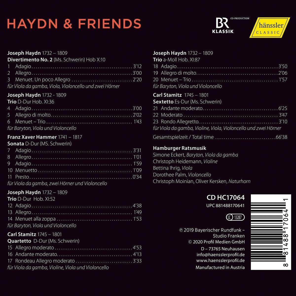 Photo No.2 of Haydn & Friends: Music for Viola