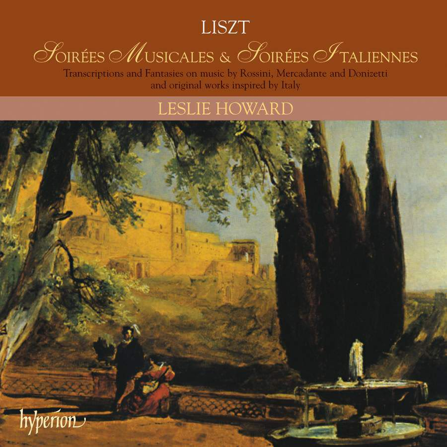Photo No.1 of Liszt Complete Music for Solo Piano 21: Soirees Musicales & Soirees Italiennes