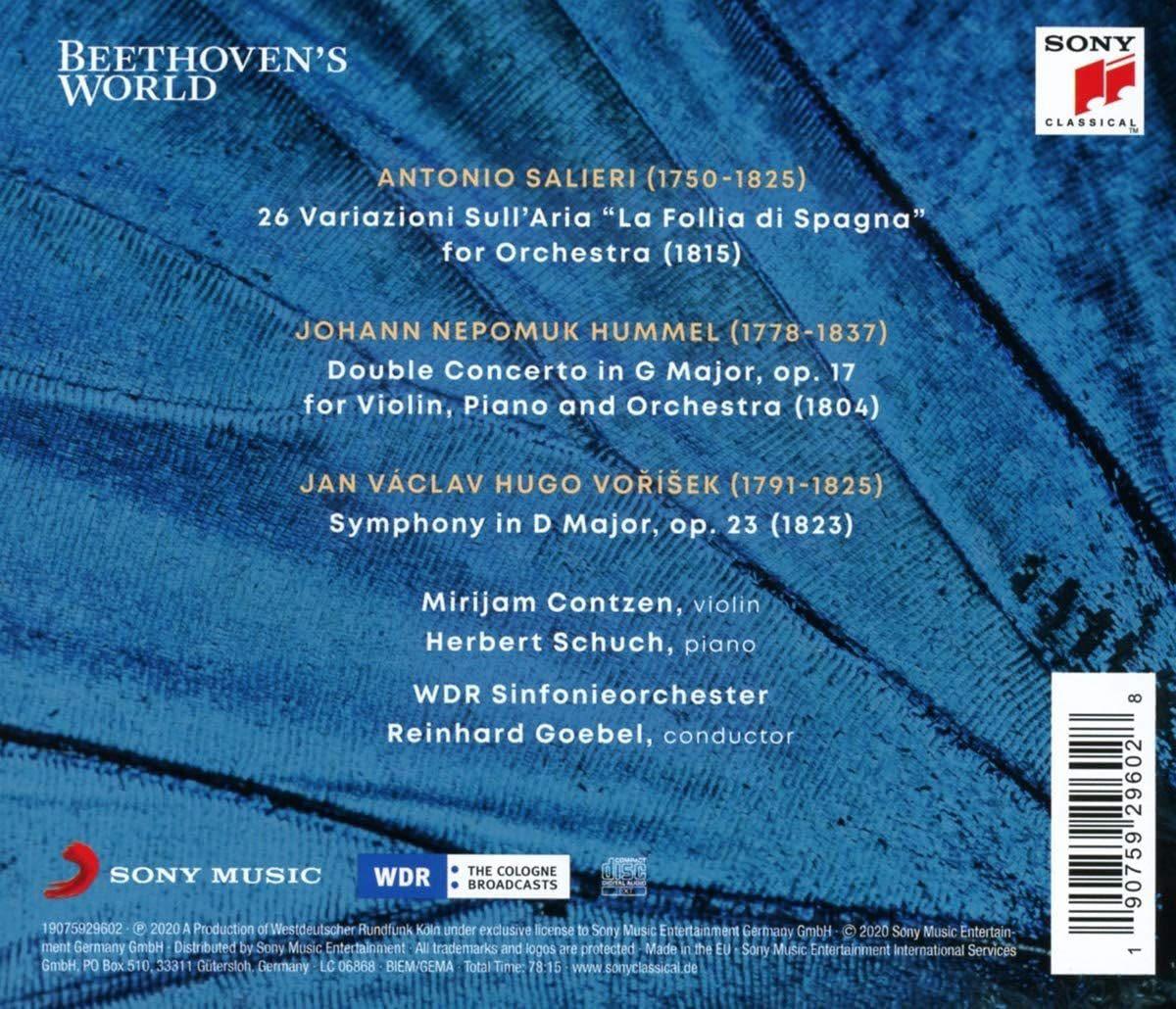 Photo No.2 of Salieri, Hummel (Double Concerto), Vorisek