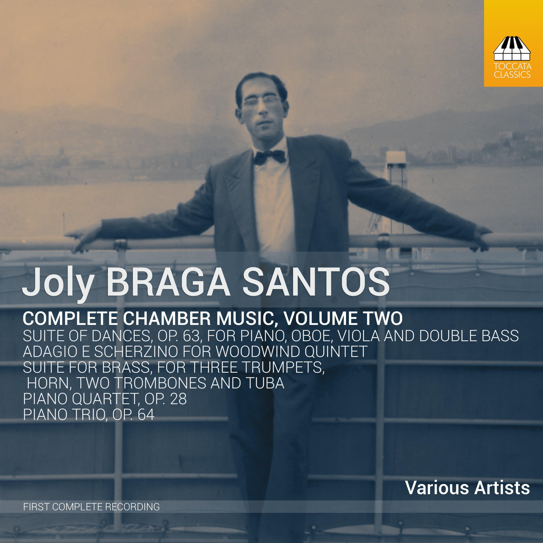 Photo No.1 of Joly Braga Santos: Complete Chamber Music, Volume Two