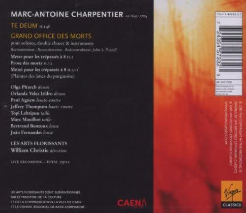 Photo No.2 of Charpentier: Te Deum & Grand Office des Morts