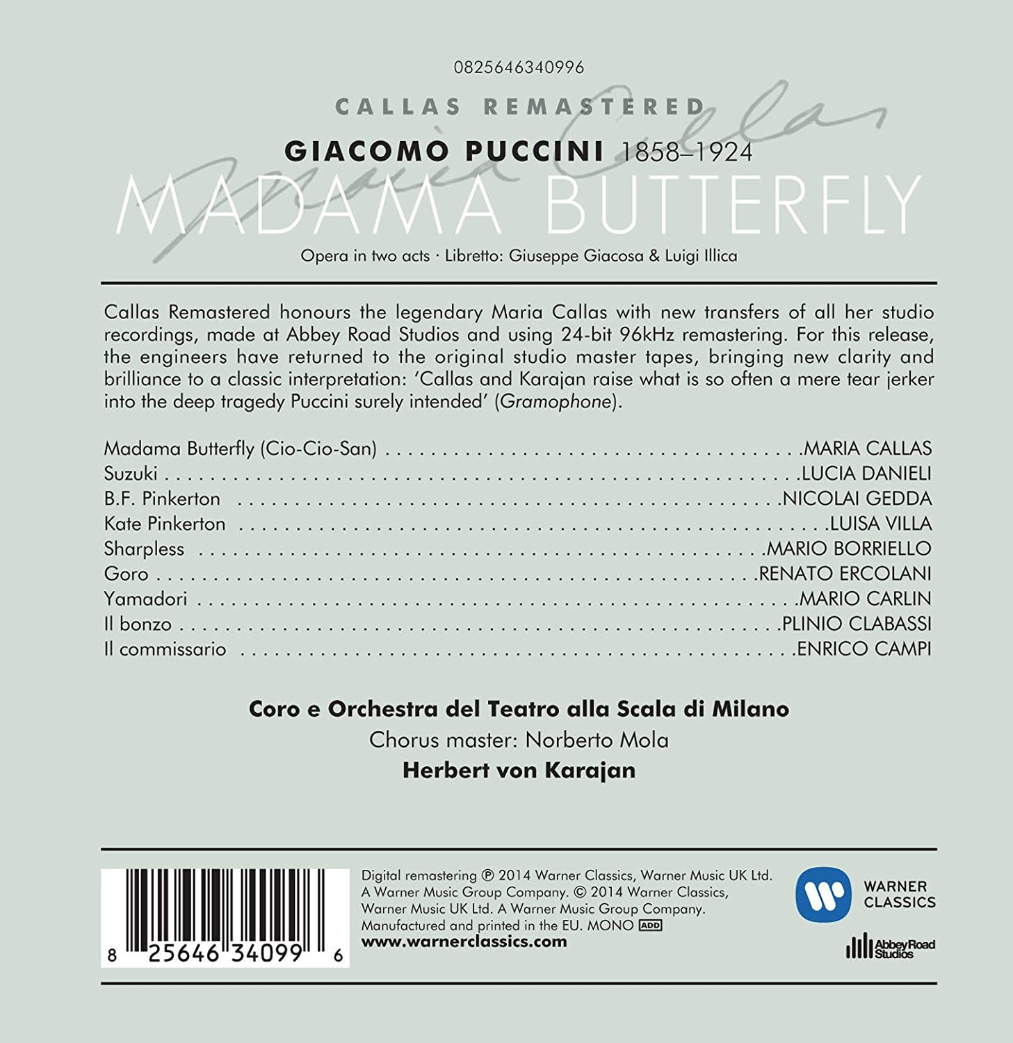 Photo No.2 of Puccini: Madama Butterfly
