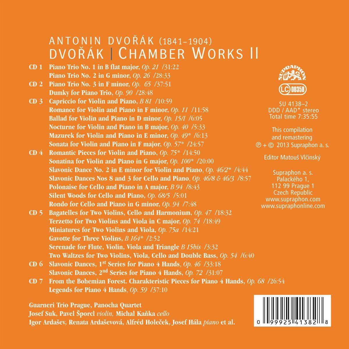 Photo No.2 of Dvorak: Chamber Works Volume 2