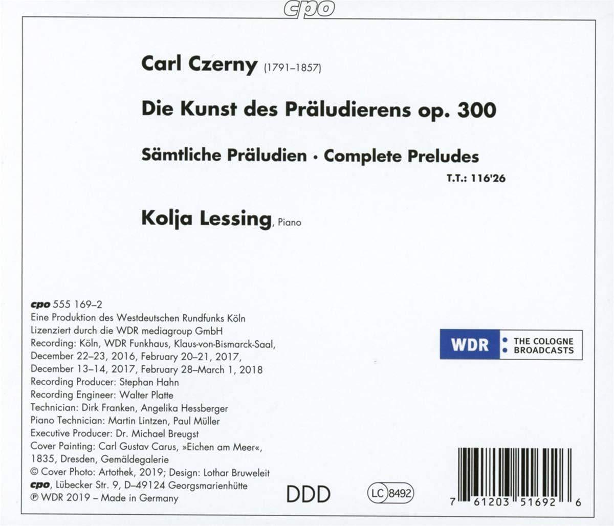 Photo No.2 of Czerny: Die Kunst des Präludierens