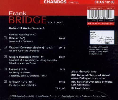 Photo No.2 of Bridge: Orchestral Works Volume 4