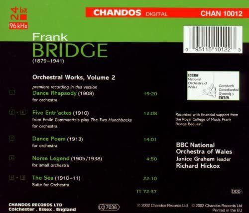 Photo No.2 of Bridge: Orchestral Works Volume 2