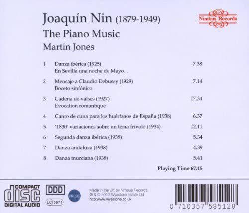 Photo No.2 of Joaquín Nin - The Piano Music