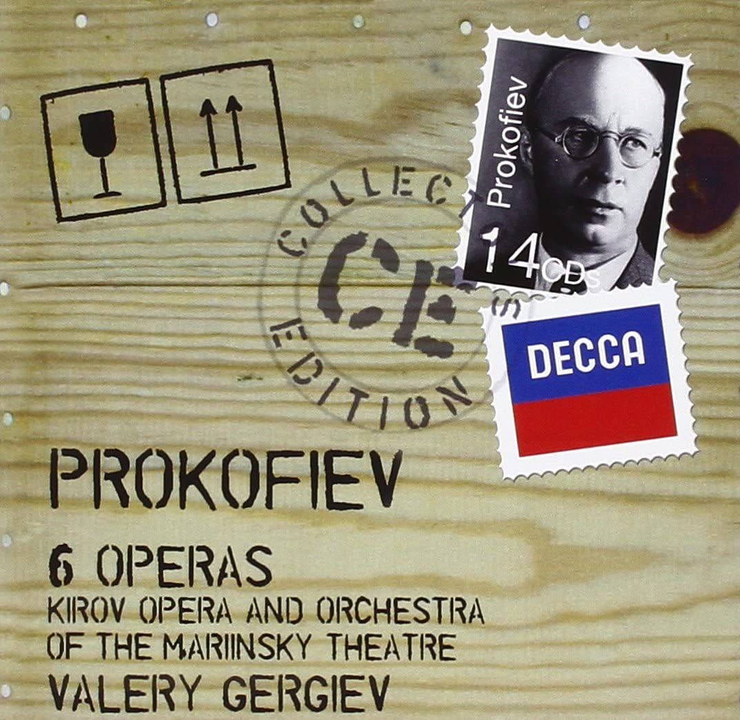 Photo No.1 of Prokofiev - 6 Operas