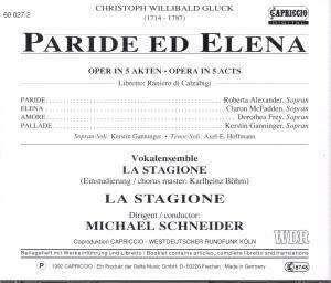 Photo No.2 of Christoph Willibald Gluck: Paride ed Elena