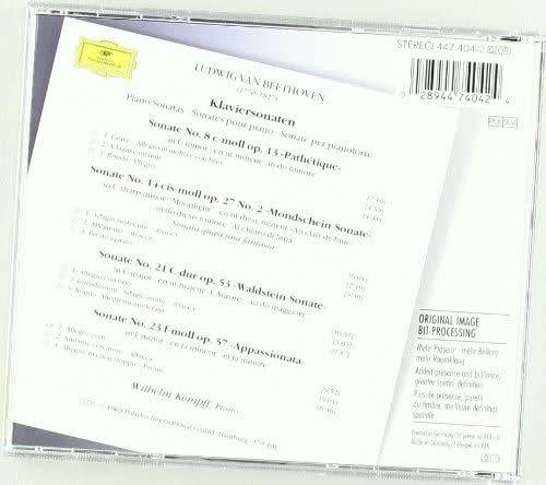 Photo No.2 of Beethoven - Piano Sonatas 8, 14, 21 & 23