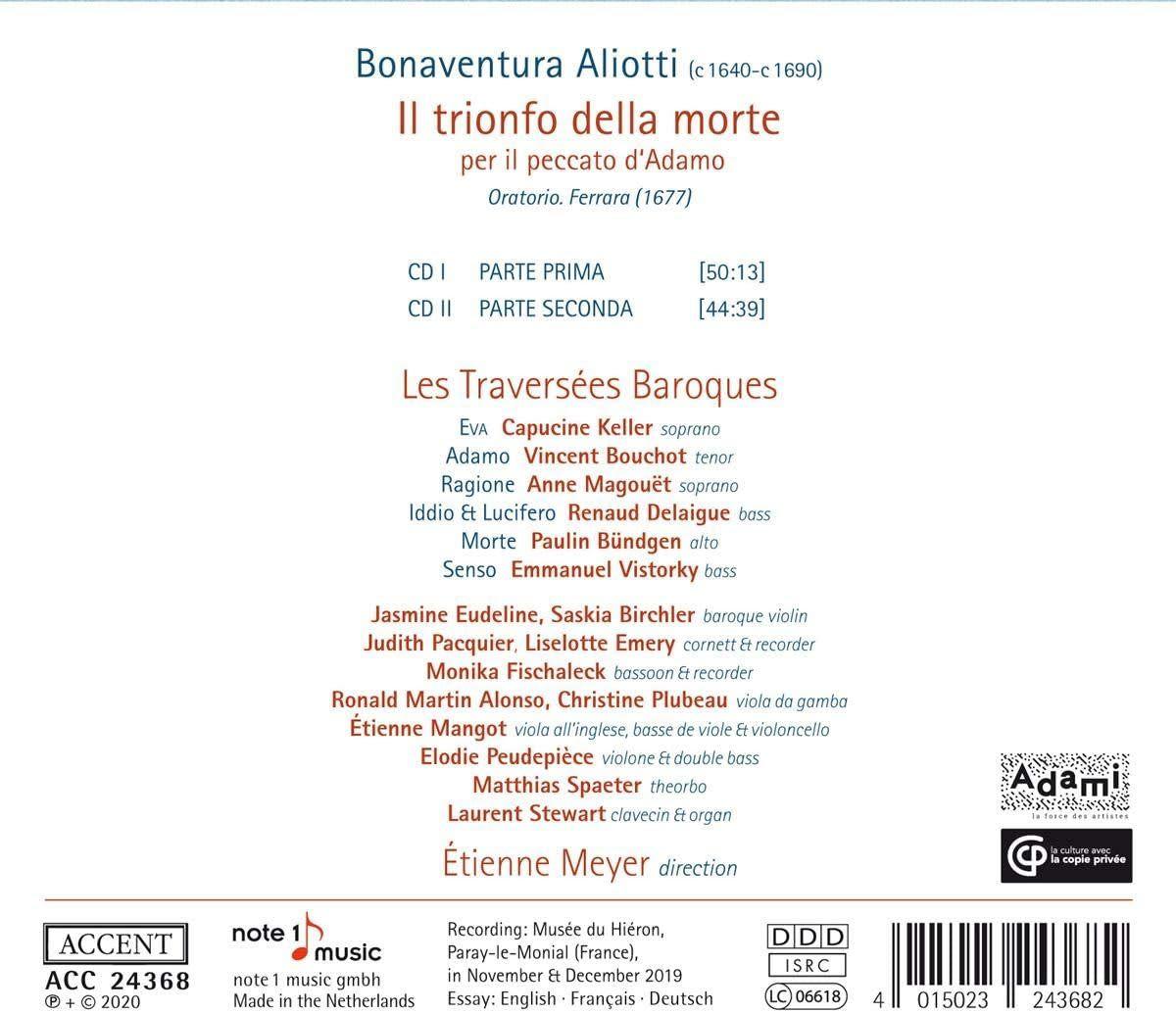 Photo No.2 of Bonaventura Aliotti: Il Trionfo Della Morte Oratorio (1677)