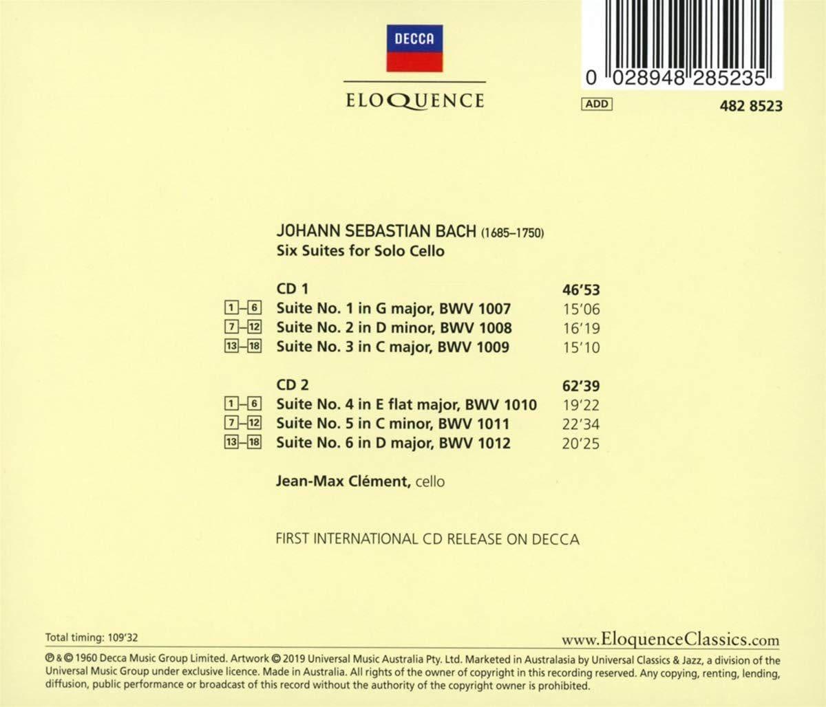 Photo No.2 of J.S. Bach: Cello Suites