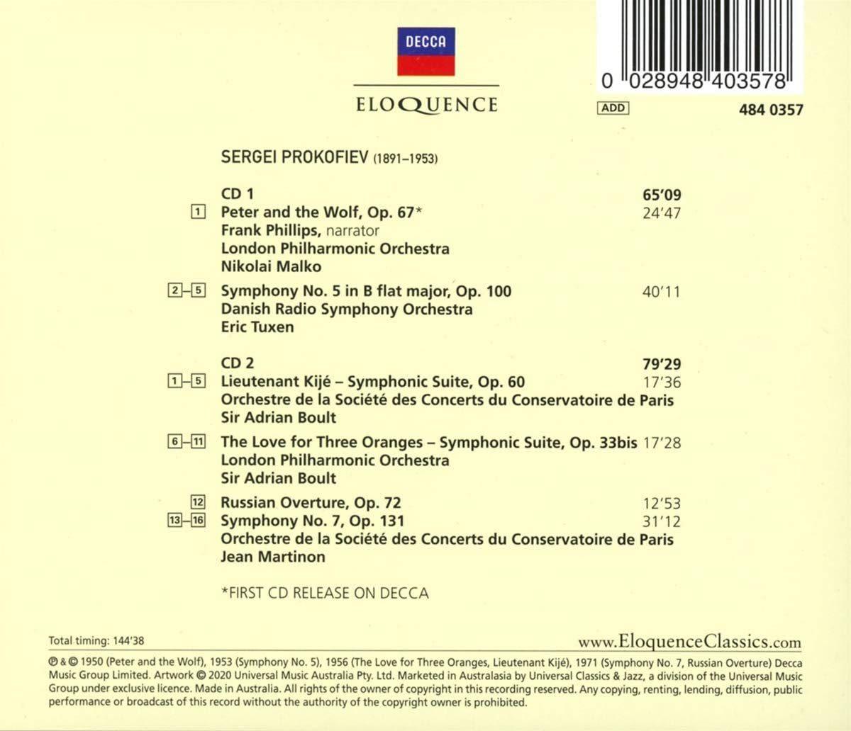Photo No.2 of Prokofiev – The Decca Masters
