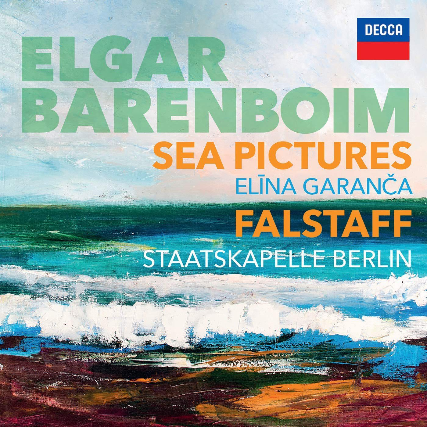 Photo No.1 of Elgar: Sea Pictures & Falstaff