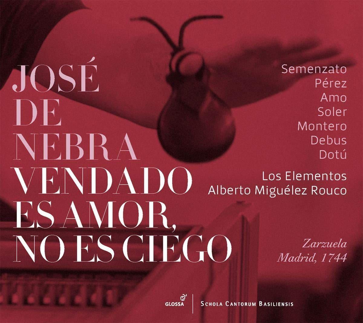Photo No.1 of Jose de Nebra: Vendado Es Amor, No Es Ciego